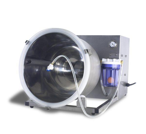 MODEL TM-20 AND TM-40 VACUUM TUMBLING MACHINE